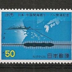 Japonia.1976 Montarea cablului de telefon cu China CI.283 - Timbre straine
