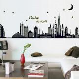Sticker perete fosforescent DUBAI + livrare gratuita