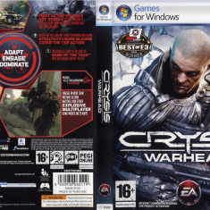 PC JOC ORIGINAL CRYSIS WARHEAD IN STARE EXCELENTA ! - Jocuri PC Electronic Arts, Shooting
