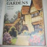 CASA SI GRADINA, 1927, DIVERSE NUMERE ,EDITATE IN ANGLIA,BOGAT ILUSTRATE,RECLAME