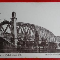 Carte Postala - AKVDE - Vedere - Slatina - Podul peste Olt