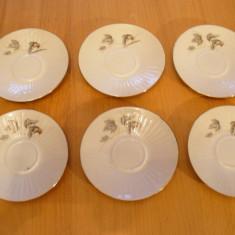 Set 6 farfurioare, farfurii din portelan Foreign, aduse din Germania