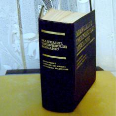 Carti Mecanica - MANUALUL INGINERULUI MECANIC_colectiv de autori, 1976