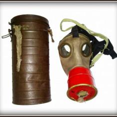 Cutie cu masca de gaze romaneasca - 1939 WWII