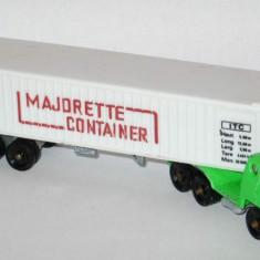 Macheta auto - Majorette - Cap Tractor Bernard + trailer