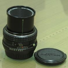 Obiectiv macro Pentax 50mm - Obiectiv DSLR Pentax, Macro (1:1), Manual focus, Pentax - K