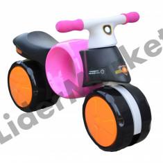 Bicicleta pentru copii fara pedale roz - Super distractie in aer liber! - Bicicleta copii