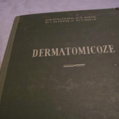 Carte Dermatologie si venerologie - Dermatomicoze-r. evolceanu, a. avram, i. alteras-1956 [2 buc. la fel]