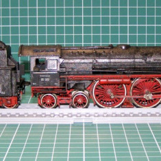 Macheta Feroviara, 1:87, HO, Locomotive - Locomotiva abur BR05 scara HO(3963)