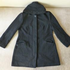 Palton; marime 44, vezi dimensiuni exacte; 70% lana, 20% poliester, 5% alte - Palton barbati, Din imagine