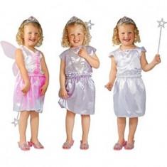 Set cu 3 costume de copii, zana si printesa - Costum petrecere copii