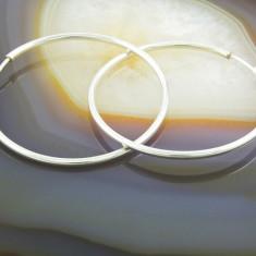 Cercei din Argint 925, Rotunzi, Cercuri, cod 544 - Cercei argint