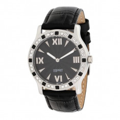 Ceas Esprit Black Vanity, ES102802001 - Ceas dama Esprit, Lux - elegant, Quartz, Piele, Ziua si data, Analog