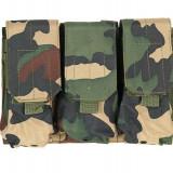 Portincarcator Triplu M4/AK Woodland [ACM] - Echipament Airsoft