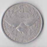 Moneda 5 francs 1952 - Noua Caledonie, Australia si Oceania