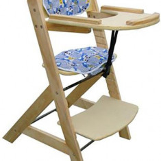 Scaun de masa copii din lemn de fag