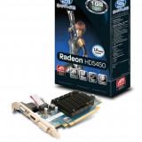 Placa video SAPPHIRE 1024 MB GDDR3 64 bit PCI-E 16x AMD Radeon HD 5450 VGA DVI HDMI - Placa video PC