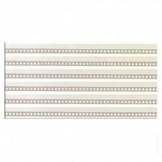 Faianta decorativa Project alb perle - 20 x 40 cm