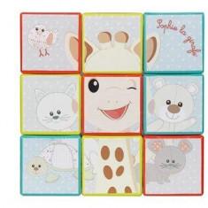 Puzzle vertical cuburi Vulli - Jucarie interactiva