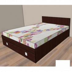 Pat dormitor - Pat cu un sertar Raul 1 - cires oxford 088