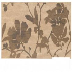 Set faianta decor beige floral Cesarom Creta - 20 x 40 cm