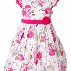 Haine dama - Rochite de fetite cu trandafiri roz- BBN1155