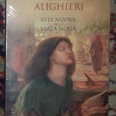 Viata noua Vita Nuova / Dante Alighieri ed. bilingva in tipla - Carte poezie