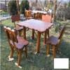 Gradinarit - Masa cu 4 scaune Gardenland - MSE 017