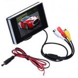 Monitor LCD 3.5 inch pentru Sistem Supraveghere Video CCTV sau pentru Auto - Monitor supraveghere