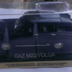 Macheta metal DeAgostini Gaz M22 Volga NOUA+revista Masini de Legenda nr.23 - Macheta auto, 1:43