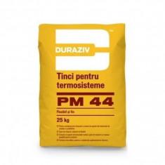 Tinci pentru termosisteme Duraziv PM 44 - 25 kg - Ciment