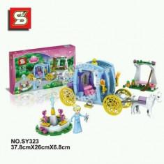 JOC CONSTRUCTIE PRINCESS, CALEASCA CU PRINTESA SI CAL CU 287 PIESE, CADOU MINUNAT. - LEGO Disney Princess
