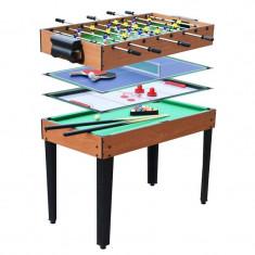 Masa biliard - Masa de joc 4 in 1