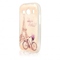 Husa Samsung Galaxy Trend 2 Lite G318 Procell Silicon Imprimat P44 Bonjour Paris - Husa Telefon