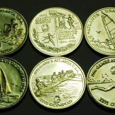 Monede Romania, An: 1996 - ROMANIA 10 LEI 1996 - J.O.ATLANTA 1996 UNC