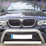 Bullbar inox compatibil BMW X5 E53 - Bullbar auto