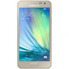 Telefon Samsung - Samsung Smartphone Samsung Galaxy a3 dualsim 16gb lte 4g auriu