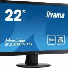 IIYAMA Monitor LED 21.5 Iiyama E2283HS-B1 Full HD 2ms GTG Negru