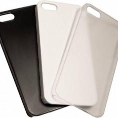 Carcasa iPhone 5 si 5S alba personalizata Apple