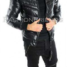 Geaca tip Zara neagra - Geaca slim fit - Geaca casual - Geaca barbati - cod 5603