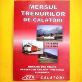 MERSUL TRENURILOR 2002-2003 - Carti Transporturi
