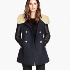 Palton dama H&M model deosebit, Marime: 36, Culoare: Din imagine