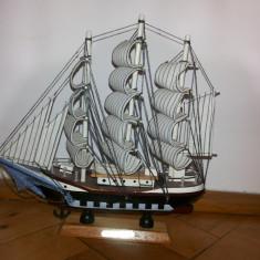 Macheta Navala - Macheta veche, corabie cu panze