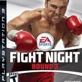 Ea Sports Fight Night Round 3 PS3 JOC ORIGINAL FULL English UK - Jocuri PS3