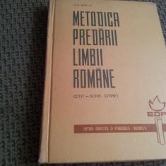 Carti de stiinta - METODICA PREDARII LIMBII ROMANE ION BERCA( citit-scris, citire)