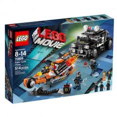 Vand Lego Movie-70808-Super Cycle Chase, original, sigilat, 514 piese, 8-14 ani