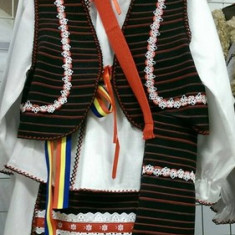 Costum popular fata 152-164 cm 100% bumbac - Costum populare, Marime universala, Negru