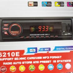 Player Auto cu Mp3 si Radio fm -USB / SD, 4 X50 W - CD Player MP3 auto Crunch
