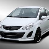 Prelungire bara fata tuning, Opel, CORSA D - [2006 - 2013] - Extensie bara fata Opel Corsa D cu Facelift NOU Promotional
