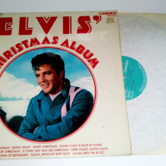 Vinil LP Elvis Presley-Christmas Album RCA - 1970 - Muzica Rock & Roll arista